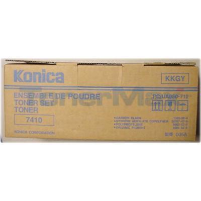KONICA 7410 TONER KIT BLACK